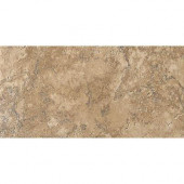Artea Stone 6-1/2 in. x 13 in. Cappuccino Porcelain Floor and Wall Tile (9.46 sq. ft./case)