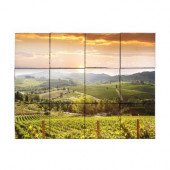 Vineyard5 24 in. x 18 in. Tumbled Marble Tiles (3 sq. ft. /case)