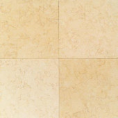 Natural Stone Collection Tiberias Gold 12 in. x 12 in. Polished Marble Floor/Wall Tile (10 sq. ft. / case)-DISCONTINUED