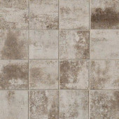 Vanity Frost 12 in. x 12 in. Porcelain Mosaic Floor and Wall Tile