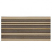 Identity Gold/Brown Fabric 12 in. x 24 in. Porcelain Decorative Accent Floor and Wall Tile-DISCONTINUED