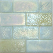 Edgewater Del Mar Glass Mosaic & Wall Tile - 5 in. x 5 in. Tile Sample-DISCONTINUED