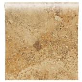Heathland Amber 4-1/4 in. x 4-1/4 in. Glazed Ceramic Bullnose Wall Tile