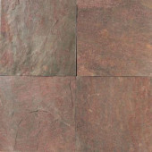 Natural Stone Collection Copper 16 in. x 16 in. Slate Floor and Wall Tile (10.68 sq. ft. / case)