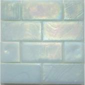 Edgewater Abalone Glass Mosaic & Wall Tile - 5 in. x 5 in. Tile Sample-DISCONTINUED