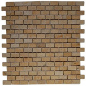 Jerusalem Gold Bricks 12 in. x 12 in. x 8 mm Natural Stone Floor and Wall Tile