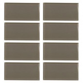 Fieldstone Gloss 3 in. x 6 in. Glass Wall Tile (8 pieces/1 sq. ft./1 pack)