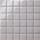 12.5 in. x 12.5 in. Capri Grigio Light Glossy Glass tile-DISCONTINUED