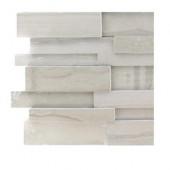 Dimension 3D Brick Athens Gray Pattern Tile Sample
