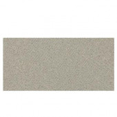 Identity Cashmere Gray Fabric 6 in. x 12 in. Porcelain Cove Base Floor and Wall Tile