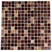 Pomegranate Martini 12 in. x 12 in. x 8 mm Glass Floor and Wall Tile