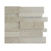 Dimension 3D Brick Crema Marfil Pattern Tile Sample
