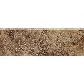 Heathland Edgewood 2 in. x 6 in. Glazed Ceramic Bullnose Wall Tile