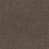 Identity Oxford Brown Fabric 12 in. x 12 in. Porcelain Floor and Wall Tile (11.62 sq. ft. / case)-DISCONTINUED