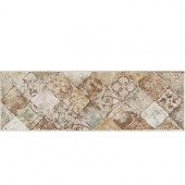 Portenza Universal 4 in. x 14 in. Glazed Porcelain Decorative Border Floor and Wall Tile