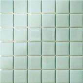 12.5 in. x 12.5 in. Capri Giada Grip Glass Tile-DISCONTINUED