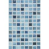 Eidos 12 in. x 8 in. Oceano Ceramic Tablet Mosaic Wall Tile