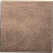 4 in. x 4 in. Cast Metal Field Classic Bronze Tile (8 pieces / case) - Discontinued