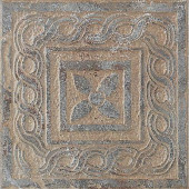 Craterlake Petra 6 in. x 6 in. Glazed Porcelain Insert Corner Floor & Wall Tile-DISCONTINUED