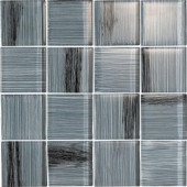 Brushstrokes Peltro-1505-3 Mosaic Glass Mesh Mounted - 4 in. x 4 in. Tile Sample-DISCONTINUED
