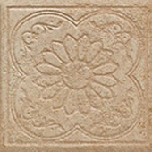 Sanford Sand 6-1/2 in. x 6-1/2 in. Decorative Porcelain Floor and Wall Tile (12 pieces / case)