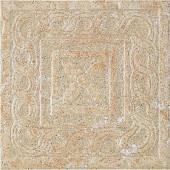Craterlake Arena 6 in. x 6 in. Glazed Porcelain Insert Corner Floor & Wall Tile-DISCONTINUED