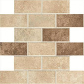 Santa Barbara Pacific Sand Blend 12 in. x 12 in. x 6 mm Mosaic Floor and Wall Tile