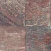 Copper Fire 16 in. x 16 in. Honed Quartzite Floor and Wall Tile (8.9 sq. ft. / case)