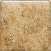 Heathland Amber 6 in. x 6 in. Glazed Ceramic Bullnose Wall Tile