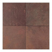 Continental Slate Indian Red 18 in. x 18 in. Porcelain Floor and Wall Tile (18 sq. ft. / case)