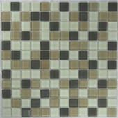 Riverz Humbolt Mosaic Glass 12 in. x 12 in.Mesh Mounted Tile (5 sq. ft.)