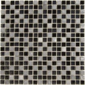 Dancez Fandango Stone and Glass Blend Mesh Mounted Floor and Wall Tile - 3 in. x 3 in. Tile Sample