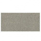 Identity Metro Taupe Fabric 6 in. x 12 in. Porcelain Cove Base Floor and Wall Tile