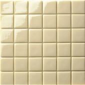 12.5 in. x 12.5 in. Capri Crema Glossy Glass Tile-DISCONTINUED