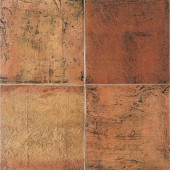 Saltillo Sealed Antique Red 8 in. x 8 in. Ceramic Floor and Wall Tile (6.25 sq. ft. / case)-DISCONTINUED