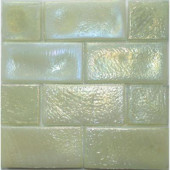 Edgewater Dune Glass Mosaic & Wall Tile - 5 in. x 5 in. Tile Sample-DISCONTINUED