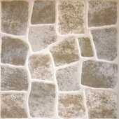 Caliza Gris 16 in. x 16 in. Glazed Ceramic Floor & Wall Tile-DISCONTINUED