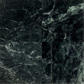 Natural Stone Collection Empress Green 12 in. x 12 in. Polished Marble Floor and Wall Tile (10 sq. ft. / case)