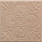 Sanford Adobe 6-1/2 in. x 6-1/2 in. Deco in Porcelain Floor and Wall Tile (12 pieces /case)