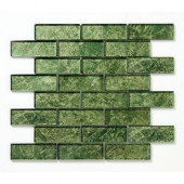 Folia Glass 12 in. x 12 in. Palo Verde Glass Mesh-Mounted Mosaic Tile-DISCONTINUED