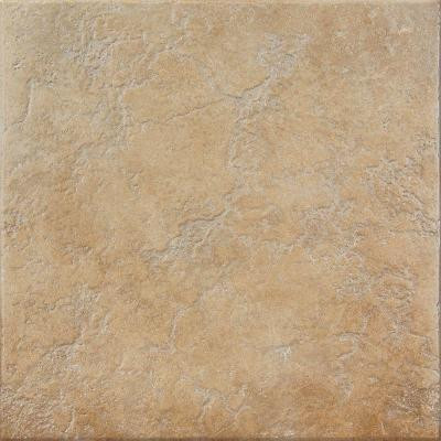 Casper 18 in. x 18 in. Bronze Ceramic Floor and Wall Tile (15.28 sq. ft./Case)-DISCONTINUED