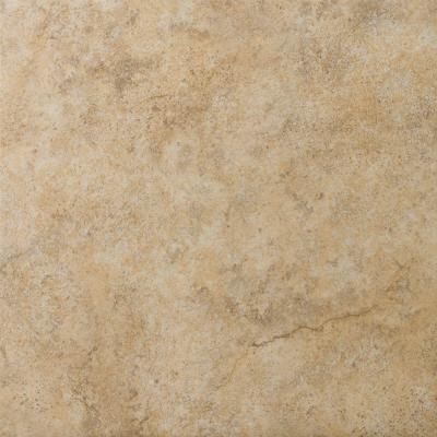 Toledo 13 in. x 13 in. Walnut Ceramic Floor and Wall Tile (16.52 sq. ft. / case)