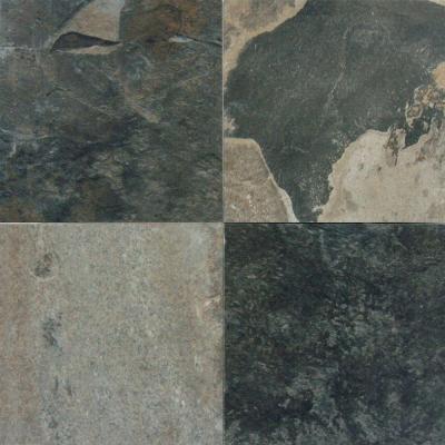 Stone Aqua 6 in. x 6 in. Glazed Porcelain Pool Tile