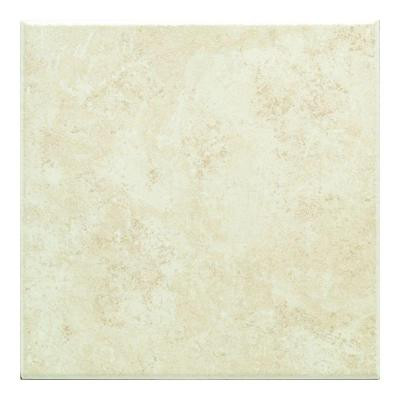 Brazos Cream 18 in. x 18 in. Ceramic Floor and Wall Tile (10.9 sq. ft. / case)-DISCONTINUED