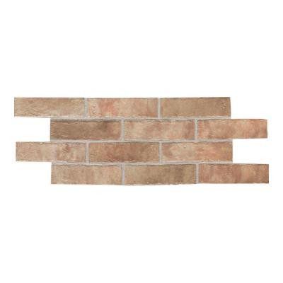 Union Square Heirloom Rose 2 in. x 8 in. Ceramic Paver Floor and Wall Tile (6.25 sq. ft. / case)
