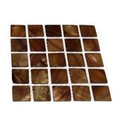 Mother Of Pearl Tiger Eye Tile Sample