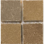 Pamplona Brown 2 in. x 2 in. Glazed Listello Corner Porcelain Floor and Wall Tile
