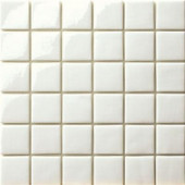 12.5 in. x 12.5 in. Capri Bianco Glossy Glass Tile-DISCONTINUED
