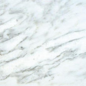 Greecian White 18 in. x 18 in. Honed Marble Floor and Wall Tile (11.25 sq. ft. / case)
