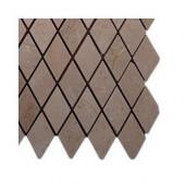 Crema Marfil Diamond Marble Tile Sample